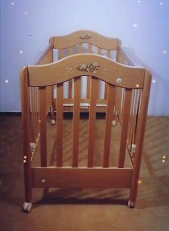 Cama bebé - 3 posições montagem-120x60cm-inclui colchão-bom estado-55€