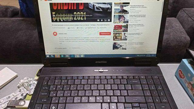 Ноутбук Acer eMachines E725-452G25Mikk