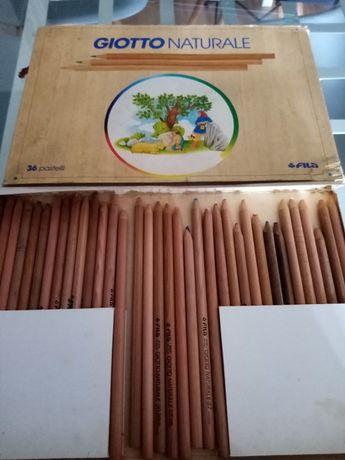 """Lápis de cor """" Giotto naturale"""" cx com 36 lápis"""