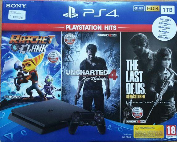 PlayStation 4 1TB Slim Pad 2 Gry pudełko ps4