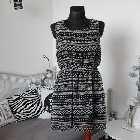 Sukienka wzory rozm. XS/S 34/36
