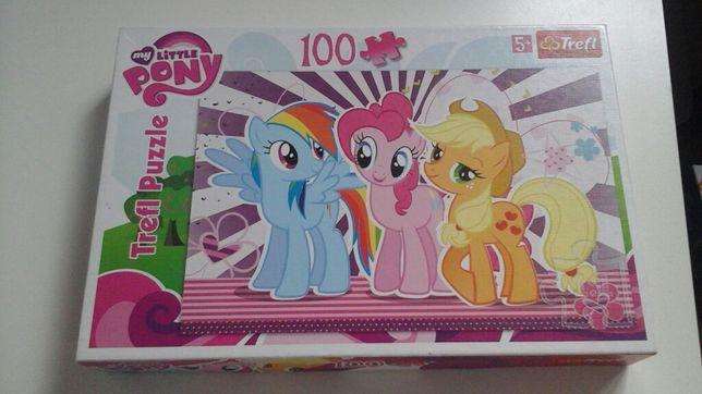 Puzzle pony 100 elementow