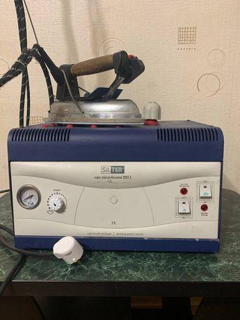 Утюг промышленный с парогенератором на 5л для швейного производства