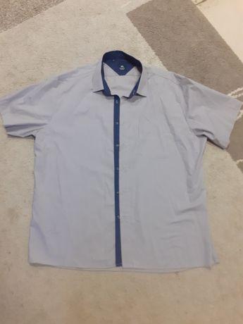 Koszula męska krótki rękaw XL