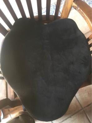 Almofada anatomica preta
