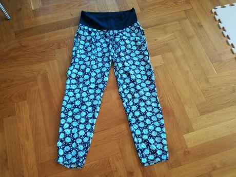 Spodnie ciążowe letnie H&M r. S 38