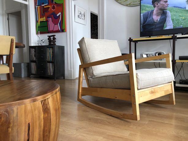 Cadeira de baloiço IKEA PS Lillberg, designer Jon Eliason