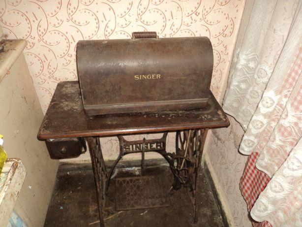 Sprzedam zabytkową starą maszynę do szycia Singer