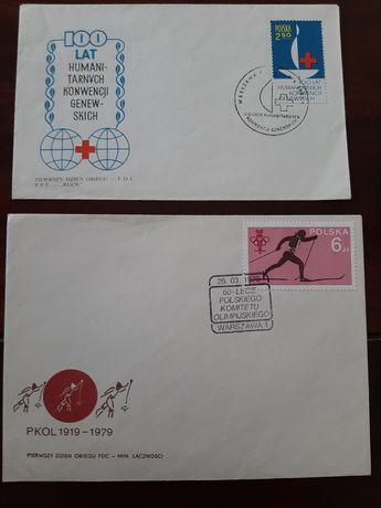 Koperty i znaczki Prl