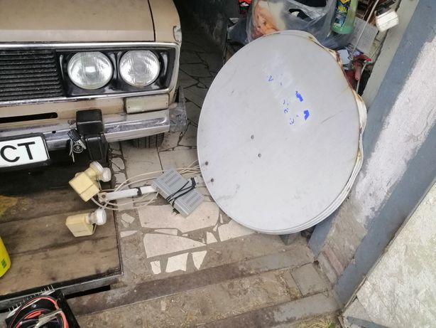 Набор спутникового телевидения тарелка + 2 декодера