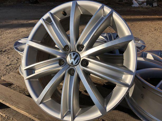 5х112 r18 VW Tiguan Passat Диски литые как НОВЫЕ Germany