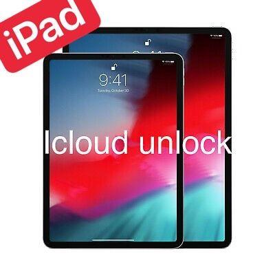 iPad iCloud unlock/розблокування/разблокировка