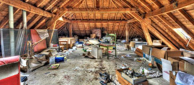 sprzątanie strychów, piwnic, garaży, działek. Rozbiórki i demontaże