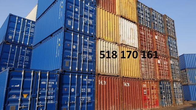 Kontener morski 20DV TANIO promocja idealny na magazyn 6 metrów