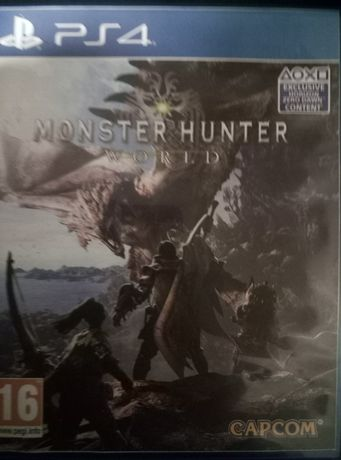 "Gra na ps4 "" Monoster Hunter World"""