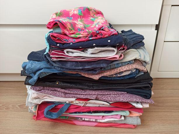 Ubranka dziewczynka 128-134 paczka 31 sztuk