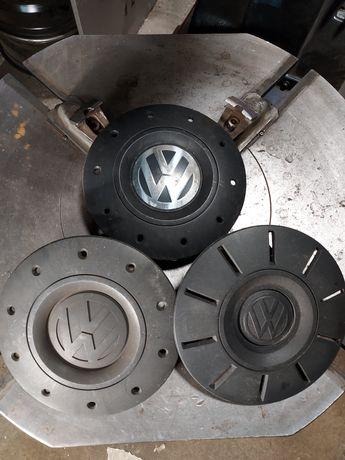 Oryginalne dekielki kołpaki VW T5 T6 7E0 komplet