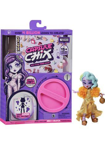 Capsule chix капсул чикс голубой фиолетовый
