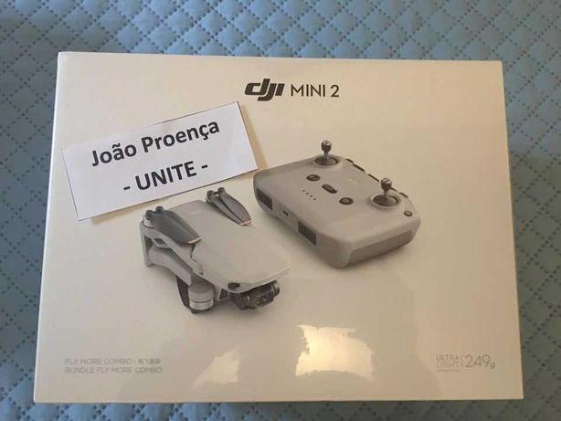Drone DJI Mini 2 + Combo + Care Refresh - NOVO - SELADO - GARANTIA