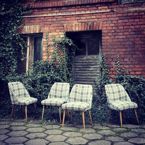 krzesła fotele PRL