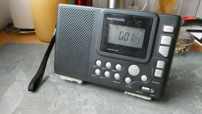 Radio Teamtronic cyfrowe bateryjne na ryby ,grzyby itp.