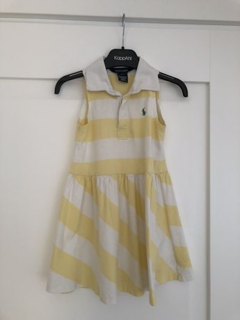 Urocza letnia sukienka Ralph Lauren 104 3 latka