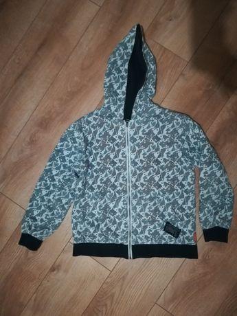 Super dwustronna bluza coccodrillo dla chłopca rozmiar 140 /146
