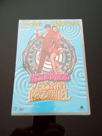 """DVD - """"Austin Powers - O Espião Irresistível"""" (selado!)"""