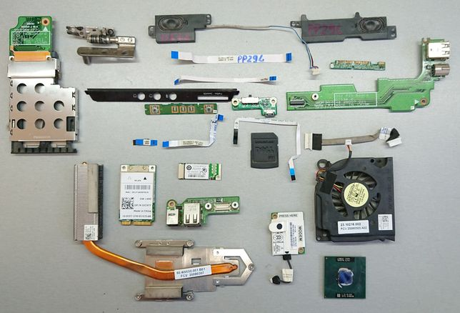 Dell Vostro 500 PP29L Разборка. Шлейф крышка радиатор динамик USB