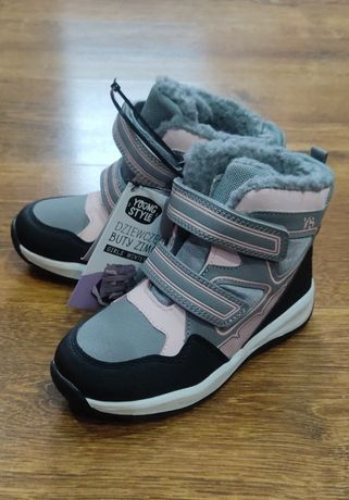 Ботинки детские 29 размер Young Style