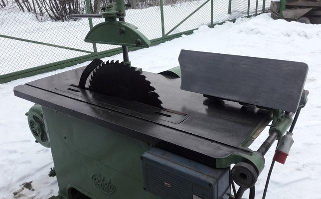 Piła stołowa tarczowa, tarcza do 80cm, 11 kW, pilarka krajzega drewna