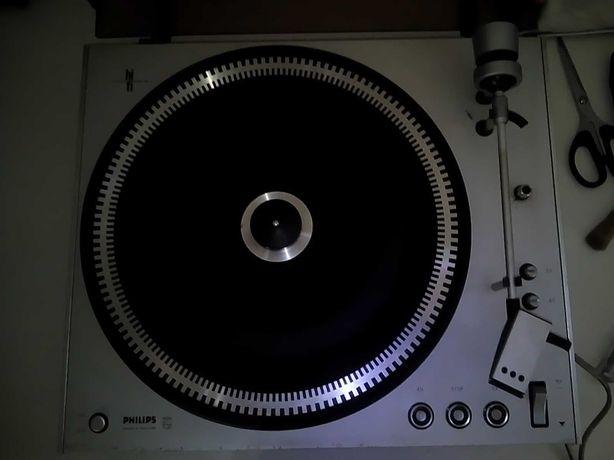 Gira Discos Philips 212 electronic vintage