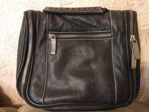 Кожанная сумка в дорогу Gino Ferrari