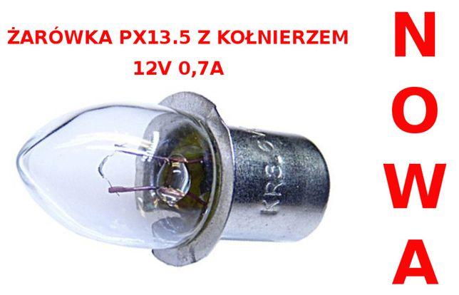 Żarówka do latarek PX13.5 12V 0,7A