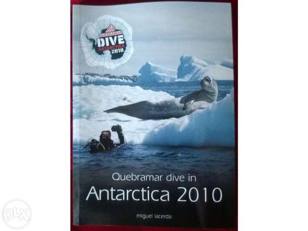 Livro sobre a Antárctica