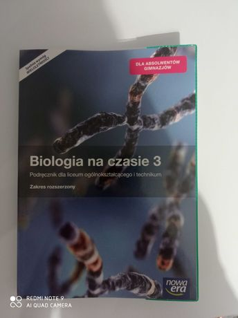Książka z biologii 3 klasa
