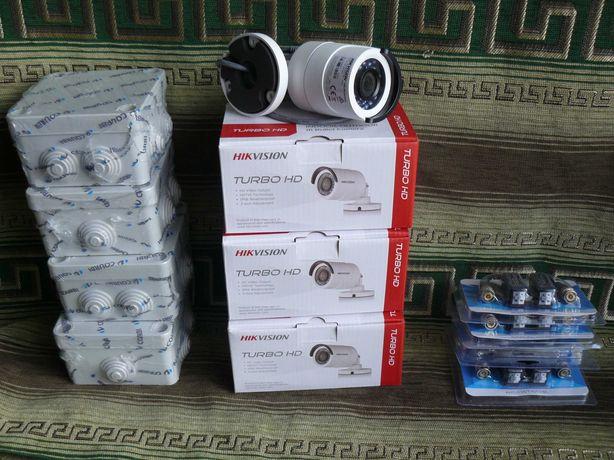 Камери Hikvision DS-2CE16DOT-IRF комплект 4-шт.
