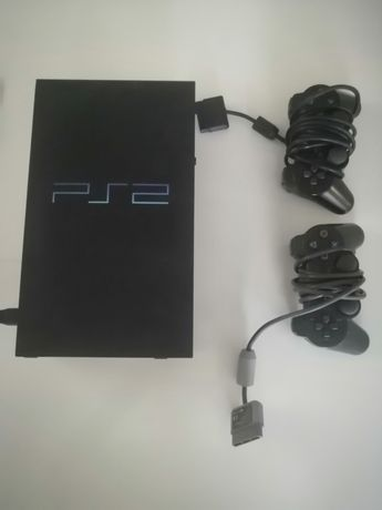 Playstation 2 plus 2 pady dużo gier