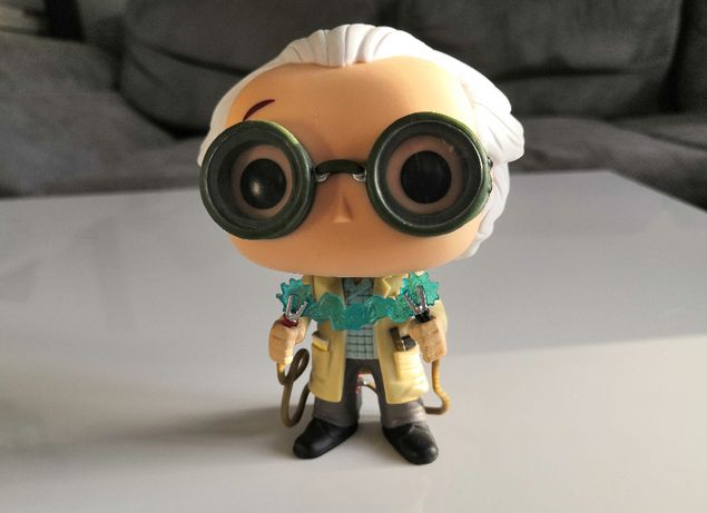 Figurka FUNKO POP! Dr. Emmett Brown 236 / Back to the Future / UNIKAT!