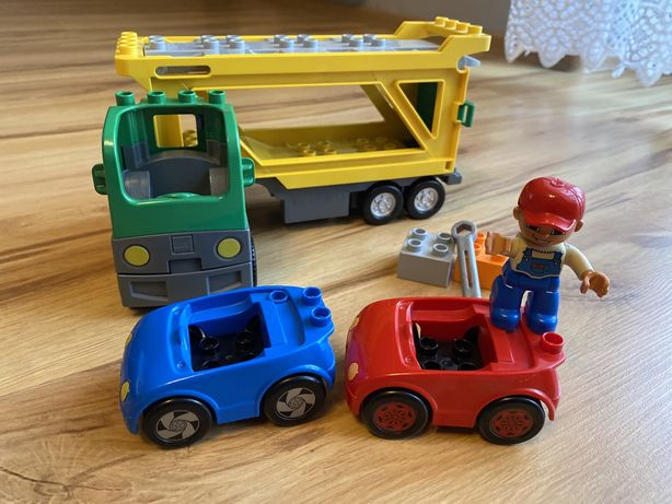 Lego Duplo laweta Car Transporter