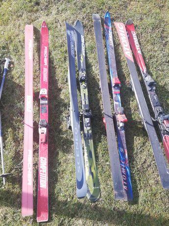 Narty, buty narciarskie
