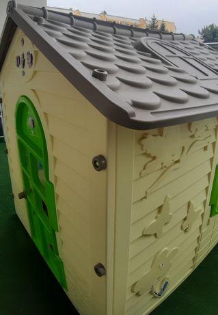 Domek plastikowy dla dzieci na balkon, ogród