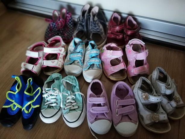 Converse, sandały, kapcie, trampki rozm 26