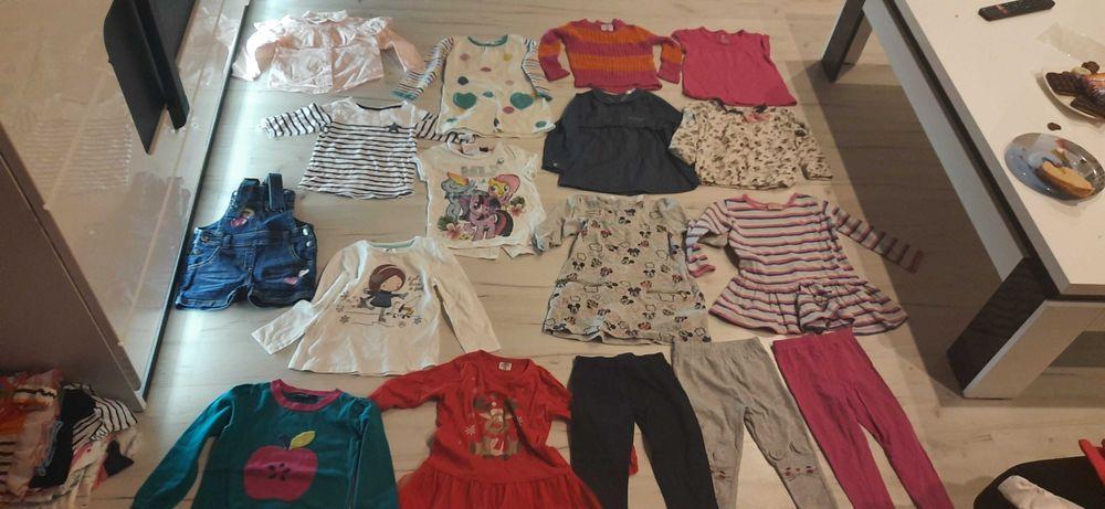 Ubrania bluzki sukienki 92,98,104 Rybnik - image 1