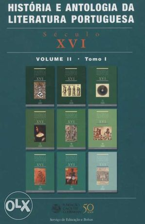 História e Antologia da Literatura Portuguesa - 2007 Século XVI