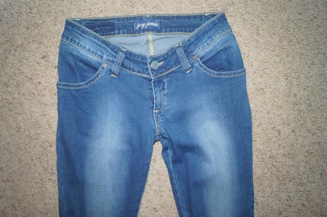 Joy Jeans- sliczne jeansy rurki s/32