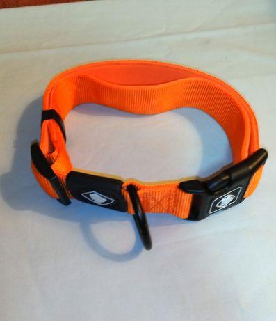 Coleira TK PET laranja, Tam XL para cães