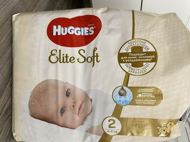 Huggies elite soft 2(Хагіс)