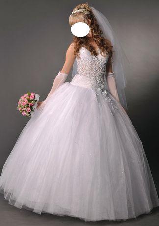 Срочно!Свадебное платье. (комплект)