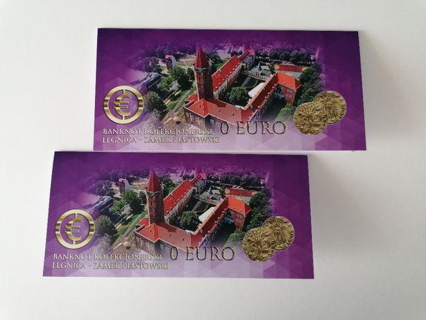 Puste etui do banknotu 0 Euro Legnica - Zamek Piastowski